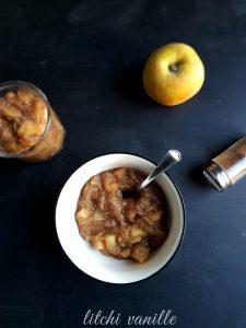 Compote de pomme aux épices