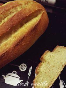 pain maison à la farine de mais
