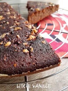 Gâteau au raisin noir sans sucre ajoutés