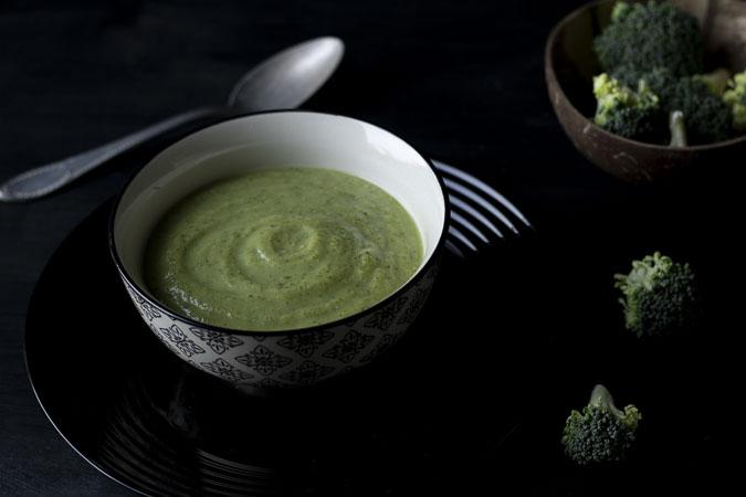 soup de brocoli au roquefort