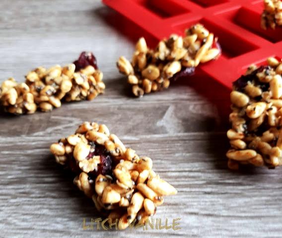 barres céréales anti-fatigue