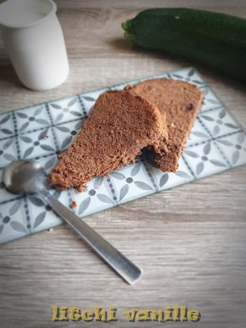 Gâteau courgette choco