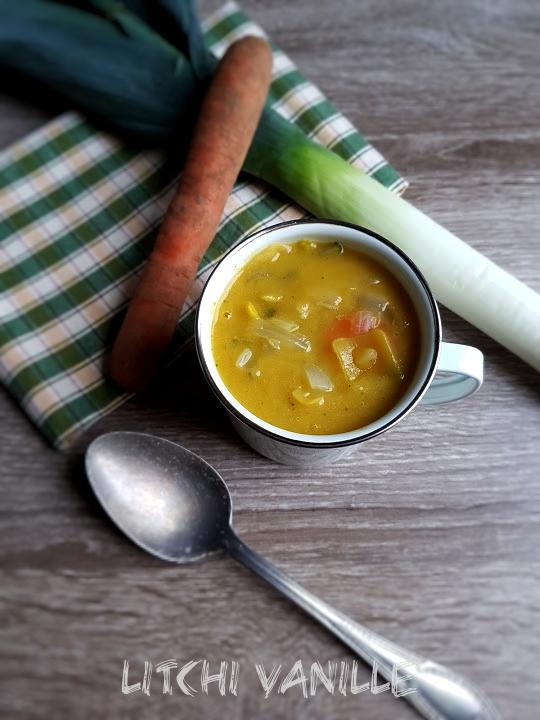 potage aux légumes détox