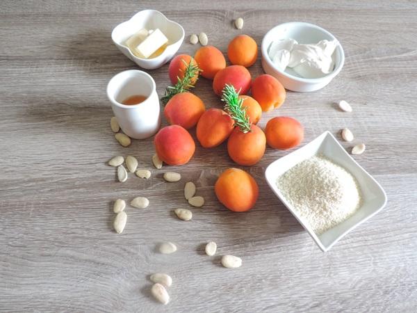 abricots rôtis parfumés au romarin