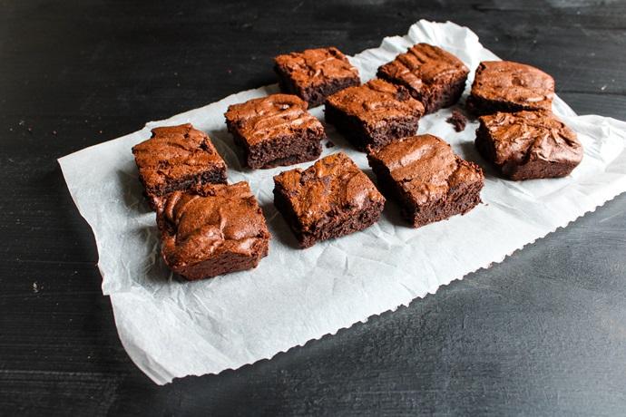 brownie 100 % chocolat