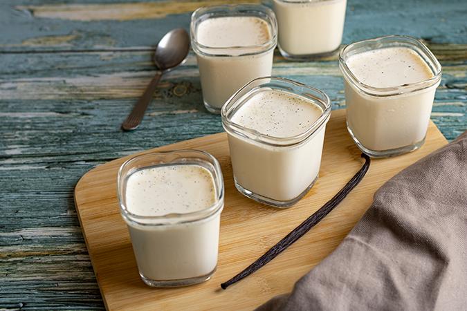 yaourts chèvre vanille