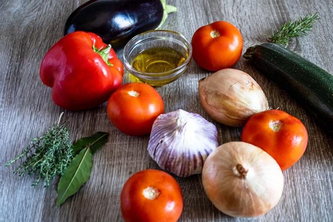 ratatouille aux légumes provençale
