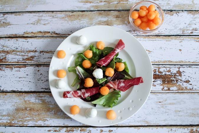 salade estivale bonne mine