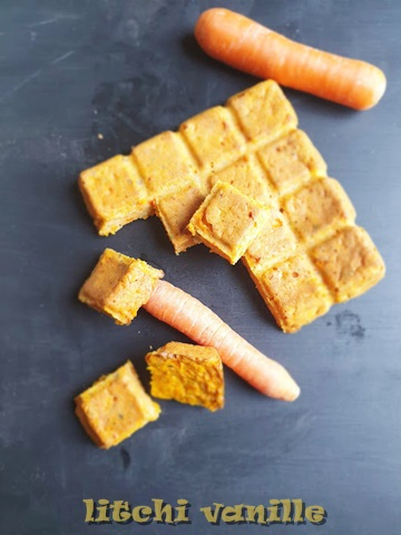 brownies moelleux à la carotte