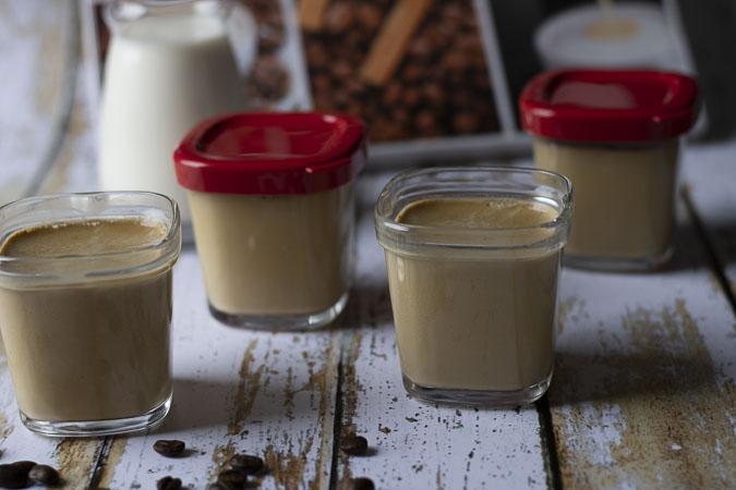 yaourts crémeux au café