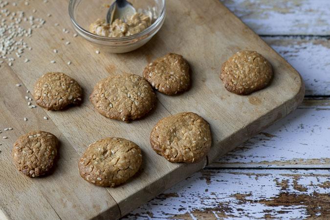 cookies à la cacahuète