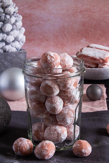 truffes carrément rose