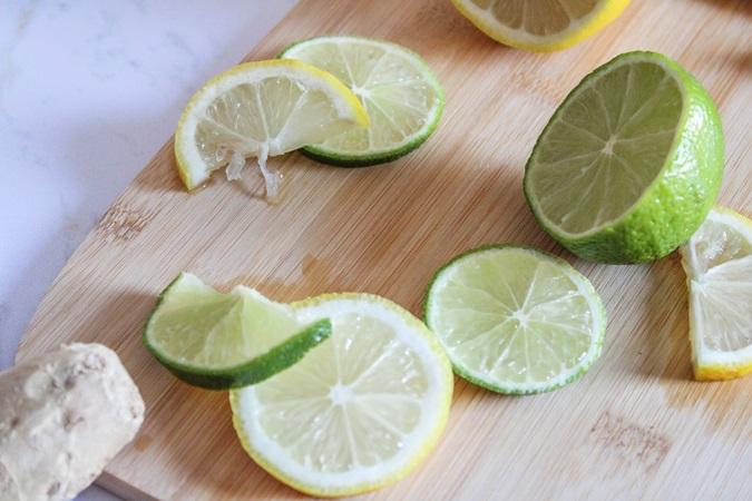 citronnade maison au gingembre