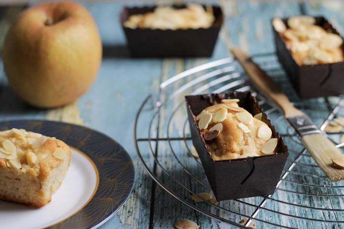 mini cake aux pommes