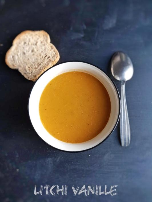 Soupe de tomate et betterave