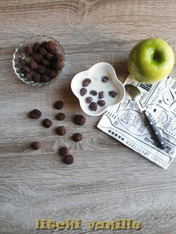 céréales au chocolat