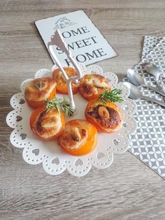 abricots rôtis parfumé au romarin